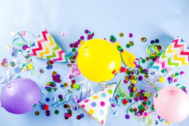 Fundo de festa de aniversário Foto Premium