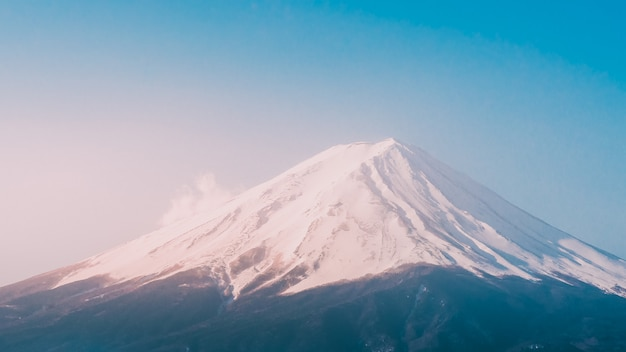 Fundo de fuji montanha Foto Premium