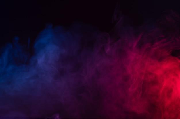 Fundo de fumaça de cor Foto Premium