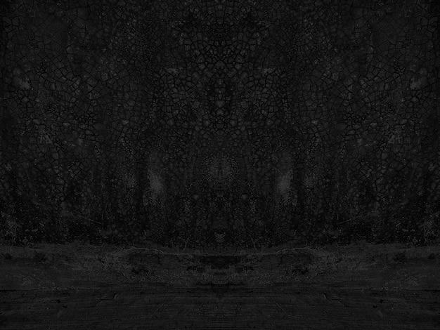 Fundo de gesso de parede desgastado isolado Foto Premium