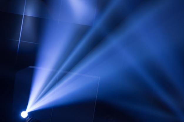 Fundo de iluminação de concerto Foto Premium