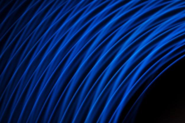 Fundo de linhas de luz raia Foto gratuita