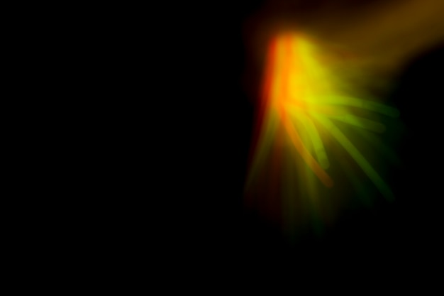 Fundo de luz abstrata fractal de renderização 3d Foto gratuita