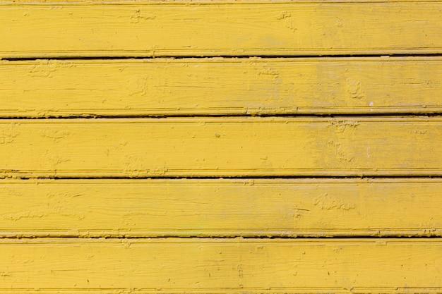 Fundo de madeira colorido amarelo. Foto Premium