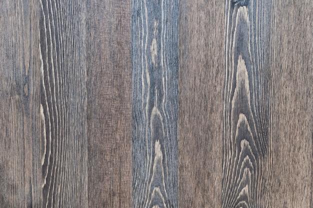 Fundo de madeira de placas de textura vertical de cor escura Foto Premium