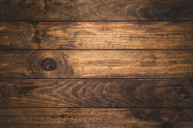 Fundo de madeira de vista superior Foto Premium
