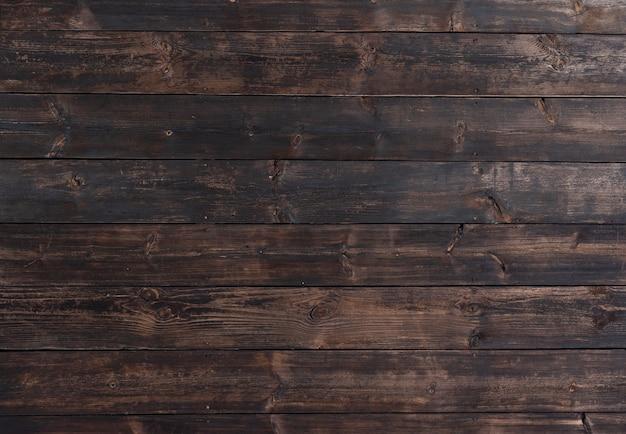 Fundo de madeira escuro abstrato Foto gratuita