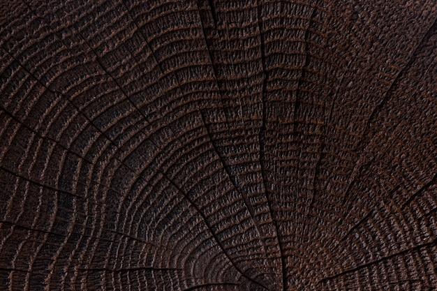 Fundo de madeira escuro Foto Premium
