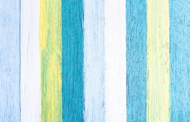 Fundo de madeira multicolorido Foto Premium