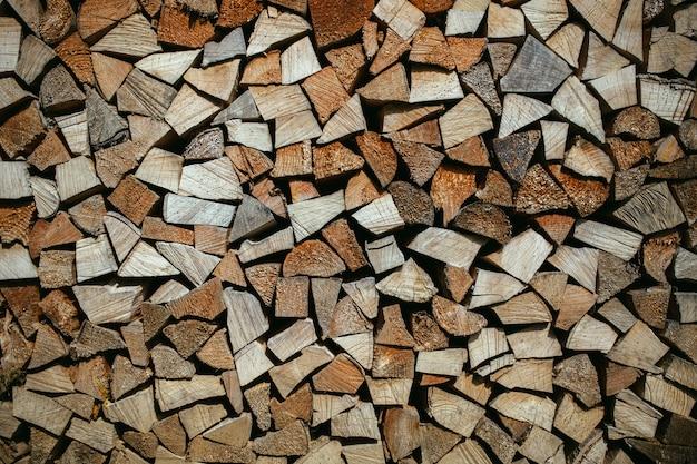 Fundo de madeira ou textura vintage velho, parede Foto Premium