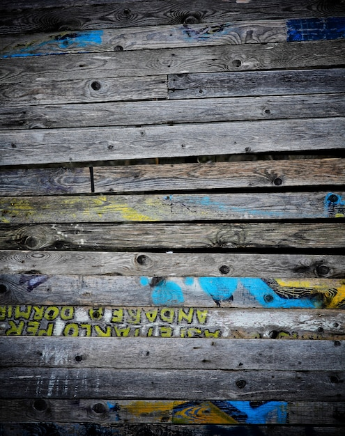 Fundo de madeira placa suja Foto Premium