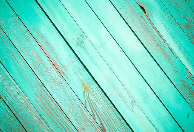 Fundo de madeira verde. cor clara . Foto Premium