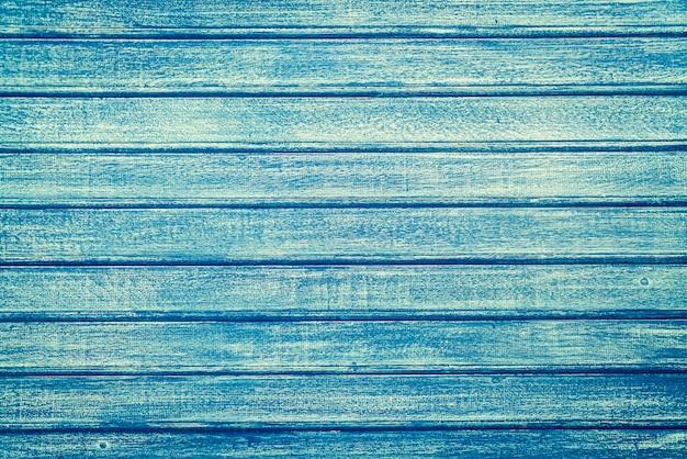Fundo de madeira vintage azul Foto gratuita