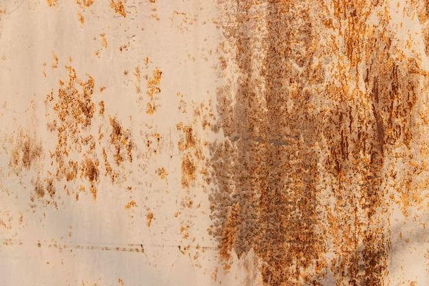 Fundo de metal enferrujado, textura de metal grunge Foto Premium