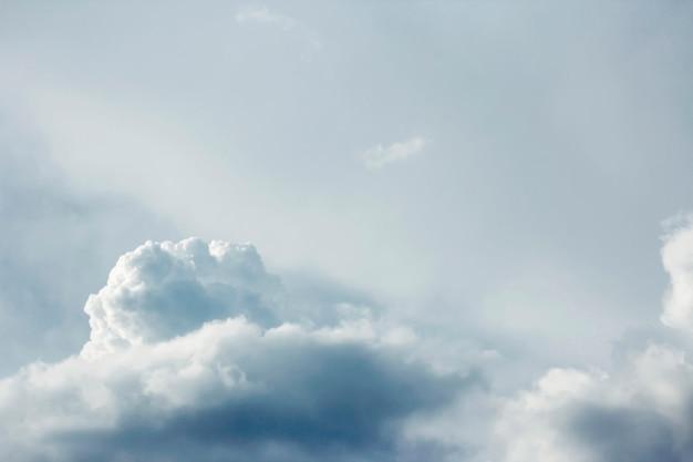 Fundo de nuvem e céu Foto Premium
