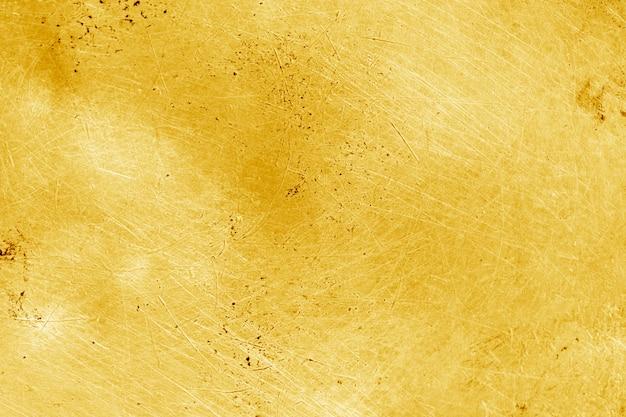 Fundo de ouro do grunge ou textura Foto Premium