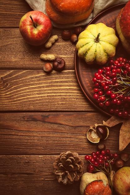 Fundo de outono Foto Premium