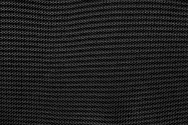 Fundo de padrão de tecido preto Foto Premium