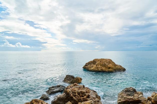 Fundo de paisagem incrível Foto Premium