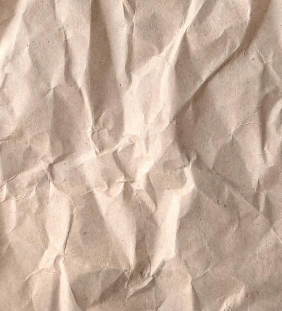 Fundo de papel amassado Foto Premium