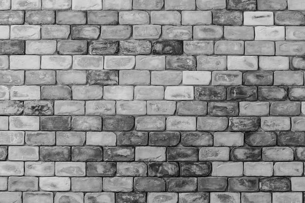 Fundo de parede de tijolo branco Foto Premium