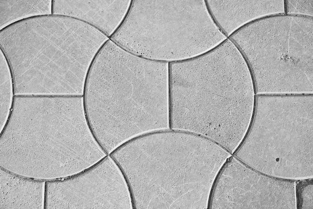 Fundo de pavimentação de concreto para fotos Foto Premium