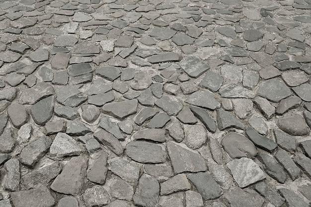 Fundo de pavimento de pedra cinza velho Foto Premium