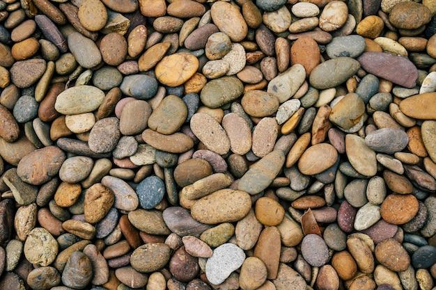 Fundo de pedra de seixos Foto Premium