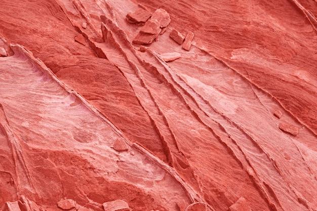 Fundo de pedra e textura na cor coral - imagem stock Foto Premium