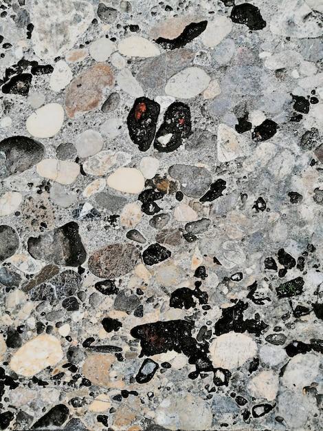 Fundo de pedras de textura de parede Foto gratuita