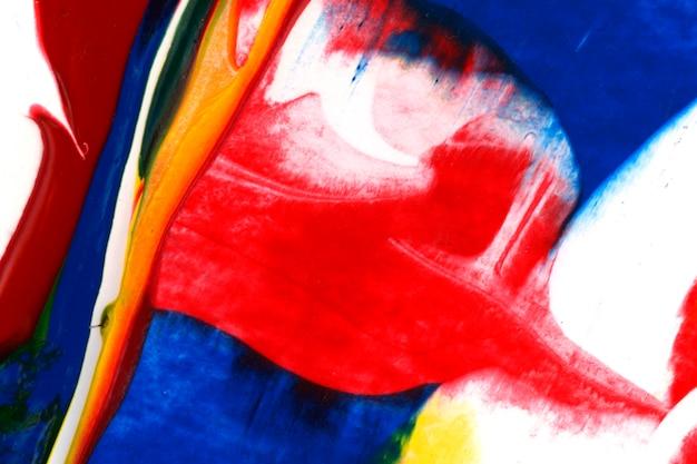 Fundo de pintura acrílica abstrata colorida Foto gratuita