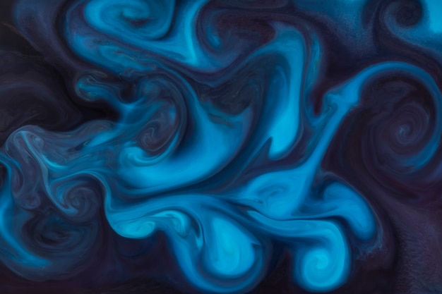Fundo de pintura de estilo azul grátis Foto gratuita