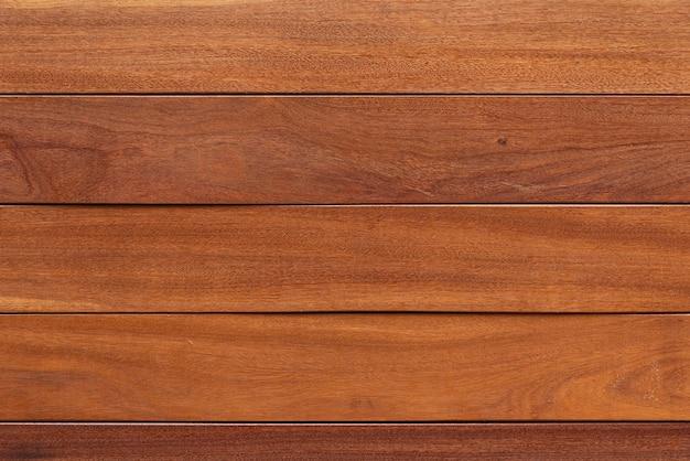 Fundo de pranchas de madeira marrom simples Foto gratuita
