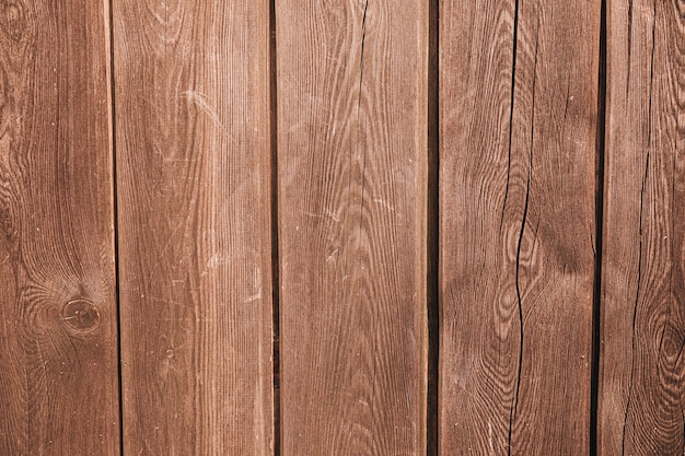 Fundo de pranchas de madeira resistiu Foto gratuita