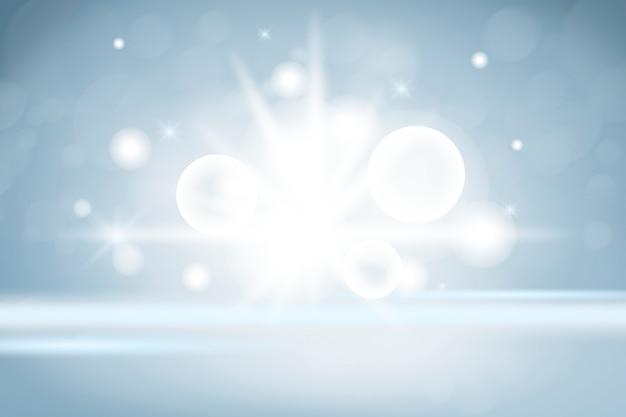 Fundo de produto de luzes cintilantes Foto gratuita