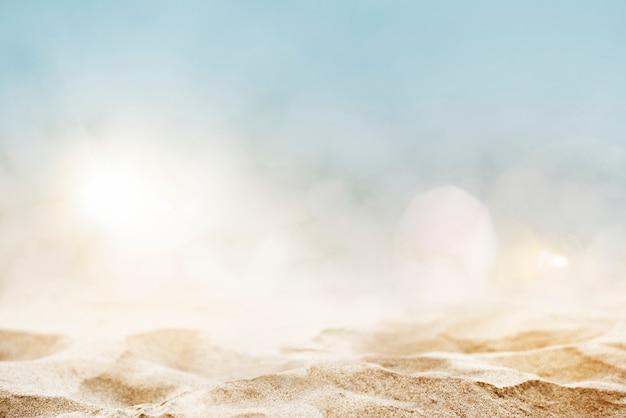 Fundo de produto de praia Foto gratuita