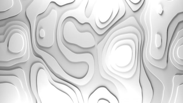 Fundo de relevo de topologia 3d Foto gratuita