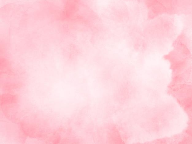 Fundo de respingo de pincel aquarela rosa pálido Foto Premium