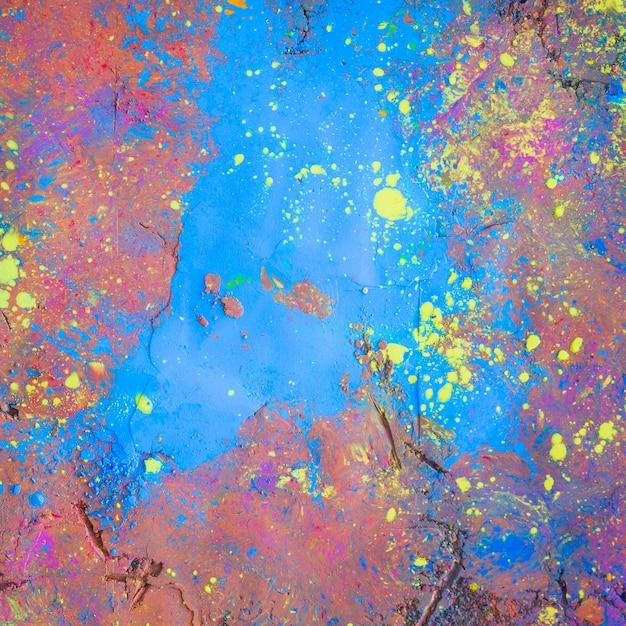 Fundo de superfície pintada brilhante Foto gratuita