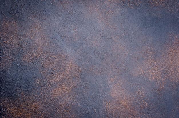 Fundo de superfície texturizado grunge enferrujado concreto escuro Foto Premium