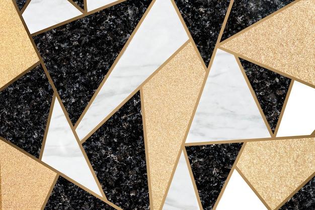 Fundo de telhas de mosaico de mármore Foto gratuita