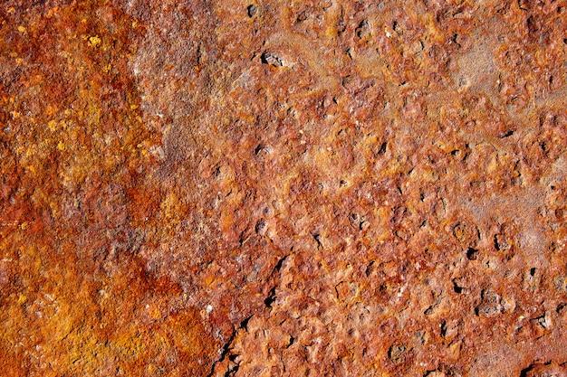 Fundo de textura de aço ferro enferrujado envelhecido Foto Premium