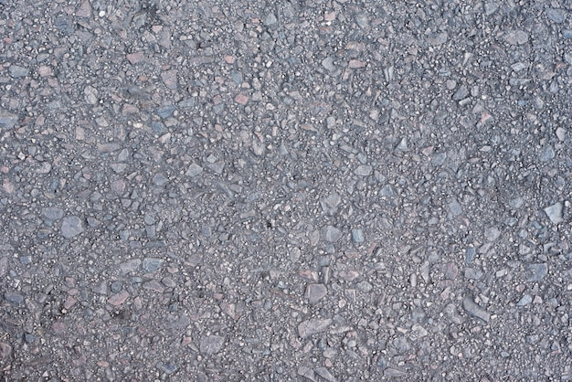 Fundo de textura de asfalto cinza. superfície da estrada de asfalto Foto Premium