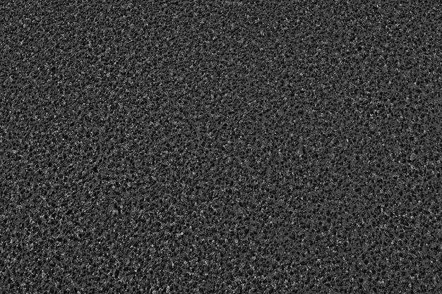 Fundo de textura de asfalto preto. vista do topo. Foto Premium