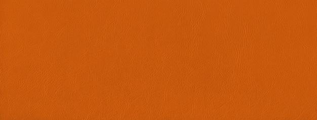 Fundo de textura de couro laranja. Foto Premium