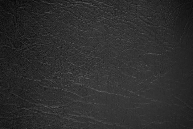 Fundo de textura de couro preto Foto Premium