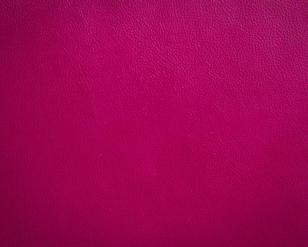 Fundo de textura de couro rosa Foto Premium
