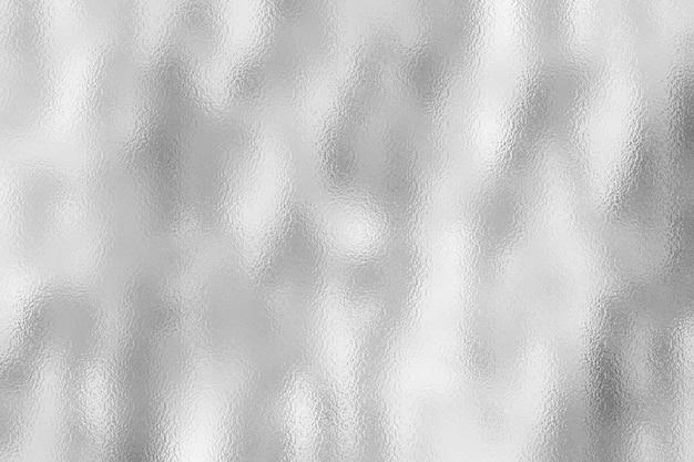 Fundo de textura de folha de prata Foto Premium