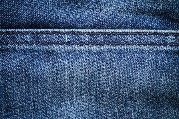 Fundo de textura de jeans denim azul Foto Premium