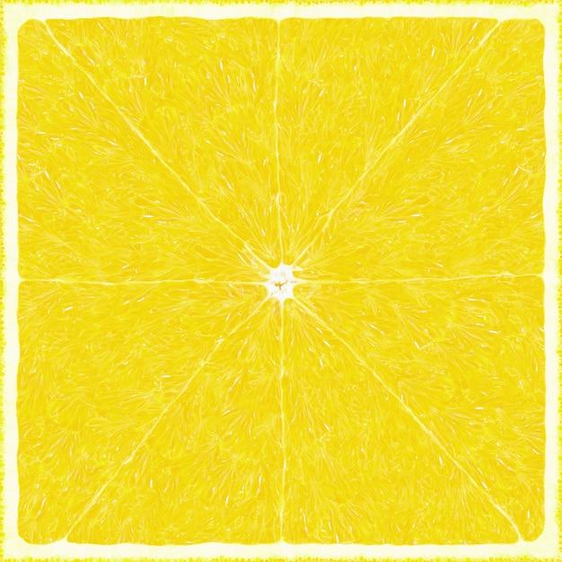 Fundo de textura de limão grande Foto Premium